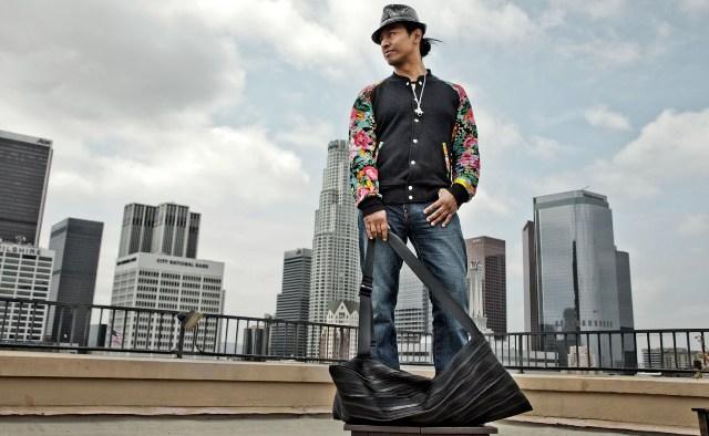 Robert Vargas, artist, Los Angeles, CA, photo by Marco Schillaci