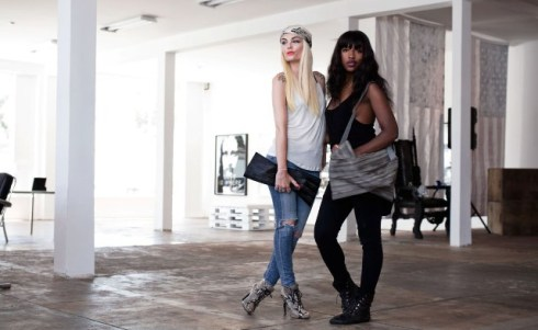 Marta Goldschmied and Marika Amega, fashion designers, West Hollywood, CA, photo by Marco Schillaci