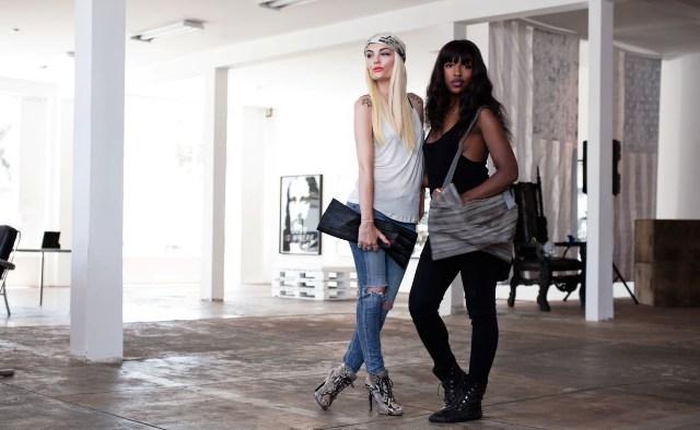 Marta Goldschmied and Marika Amega, fashion designers, West Hollywood, CA, photo by Marco Schillaci