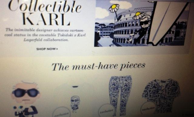 Tokidoki for Karl Lagerfeld on Net-a-porter