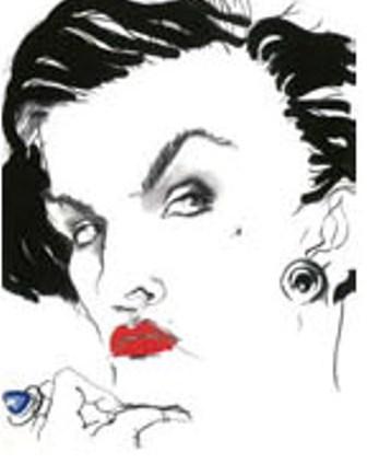 Paloma Picasso by Tony Viramontes, 1984, photo courtesy of Galleria Carla Sozzani