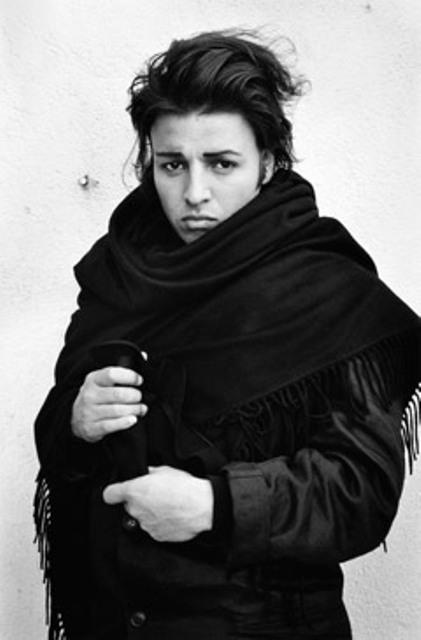 Tony  Viramontes, photo by Alice Springs, 1986, courtesy of Galleria Carla Sozzani