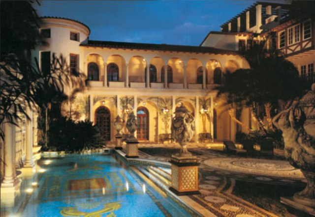The residency of Gianni Versace in Miami