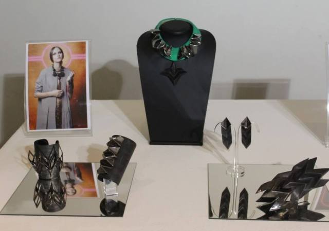 The jewlery by Giuliana Mancinelli Bonafaccia and the photographs by Marco D' Amico presenting it, photo by Giorgio Miserendino