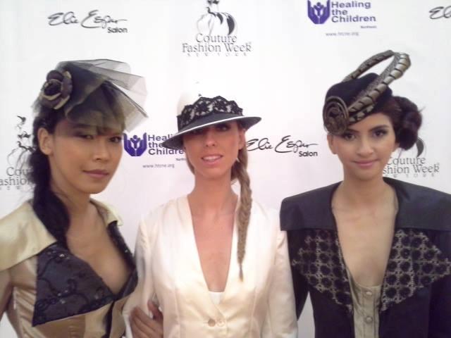 La mode abyssale, hats by La China Loca