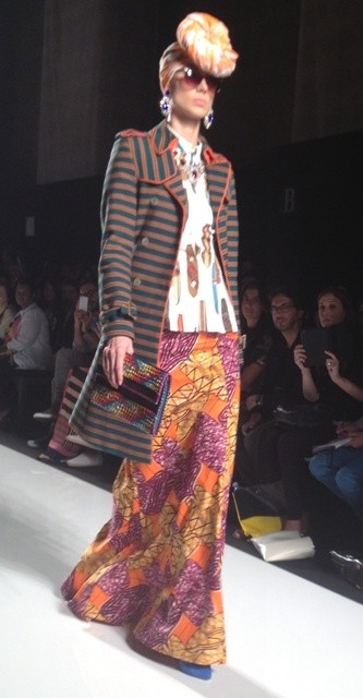 Stella Jean during An Ethical Initiative at Altaroma