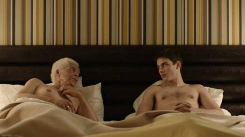 "still image from ""Gerontophilia"" by Bruce LaBruce, courtesy of Bruce LaBruce"
