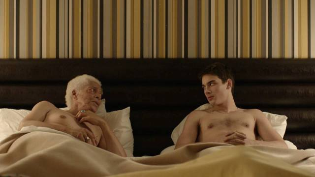 """still image from """"Gerontophilia"""" by Bruce LaBruce, courtesy of Bruce LaBruce"""