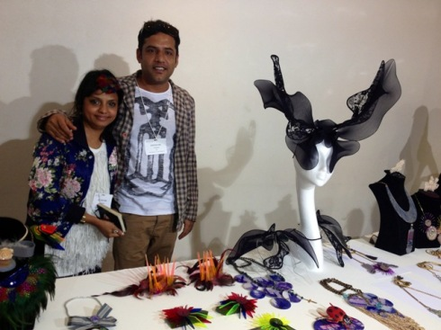 Little Shilpa and her husband, photo by N