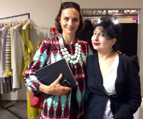 The jewelry designer Lucia Odescalchi and  me