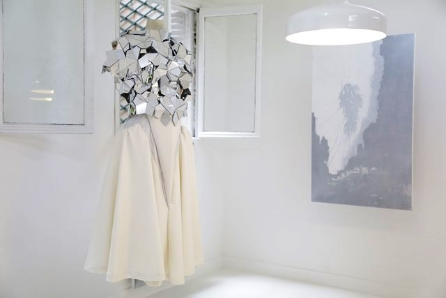 Coppelia Pique Fall/Winter 2013-2014 couture collection, painting by Axel Kriloff
