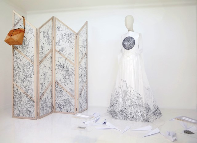 Coppelia Pique Fall/Winter 2013-2014 couture collection, furniture Coppelia Pique for Nanuk Anima Studio