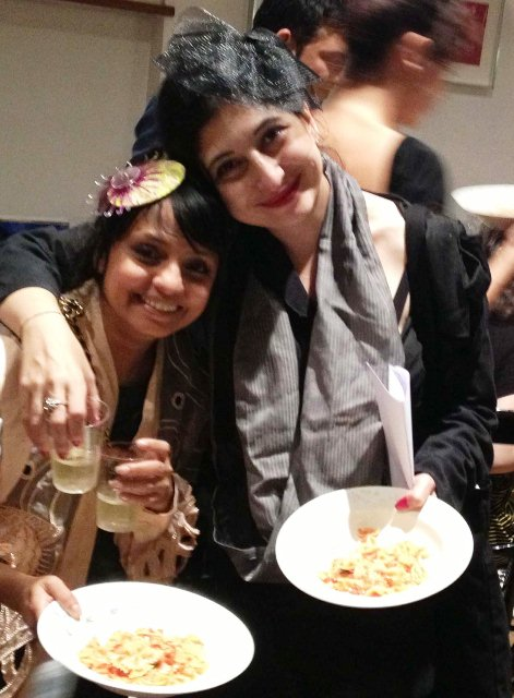 The milliner Shilpa Chavan aka Little Shilpa, e and the farfalle...inside out the stomach