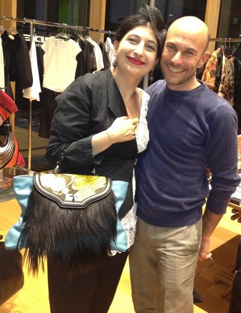Silvano Arnoldo, me and the enchanting bag by Arnoldo Battois