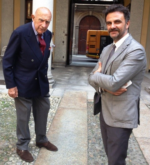 Beppe Modenese and Adriano Franchi