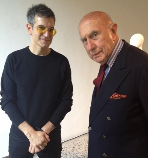Sergio Zambon and Beppe Modenese