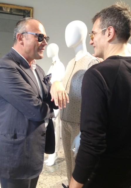 Cesare Cunaccia and Sergio Zambon