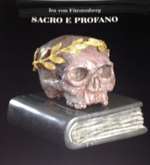 Holy and profane by Ira von Fürstenberg, the catalogue curated by Caterina Napoleone