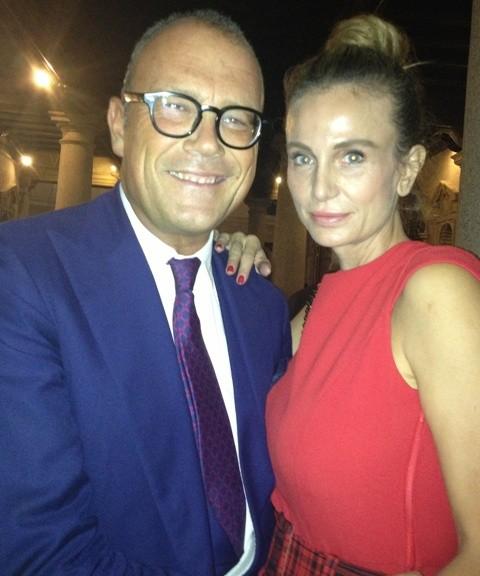 Cesare Cunaccia and Emanuella Pisetti