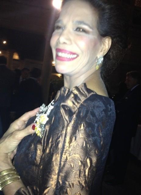 Everything is illuminated: the splendor of Marisela Federici' smile