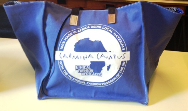 Carmina Campus  100% Made in Africa Spring/Summer 2014