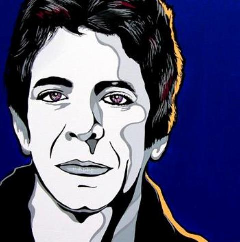 Lou Reed, by Andy Fluon