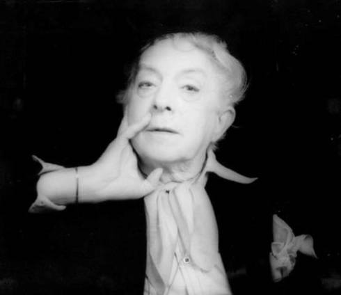 Quentin Crisp, photo courtesy of  Crisperanto: the Quentin Crisp Archives (crisperanto.org)
