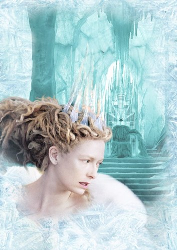"""Tilda Swinton as Jedis, still image from the movie """"The Chronicles of Narnia"""""""