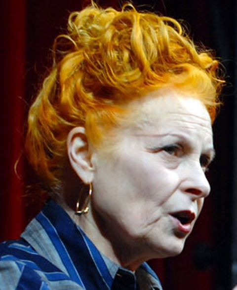 Vivienne Westwood, photo courtesy of Activeresistance.co.uk