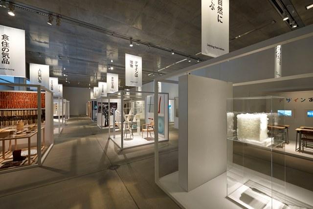 The exhibition at the Tokyo 21-21 Design Sight, photo by Masaya Yoshimura