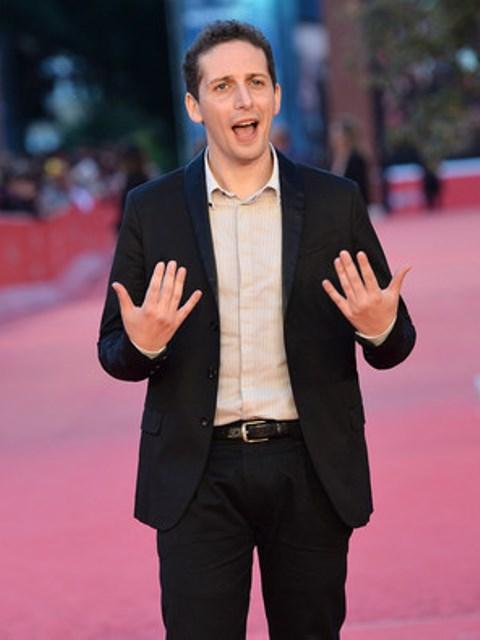 Fabio Mollo at the Rome International Film Festival, photo courtesy of Fabio Mollo