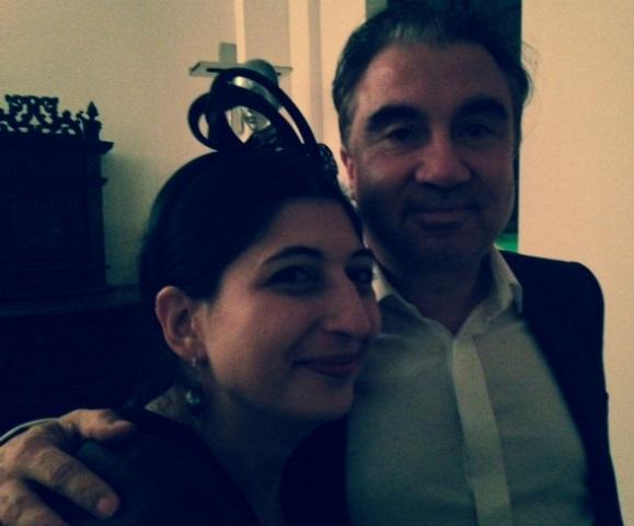 Celso Fadelli and me, photo by Cristiano Seganfreddo