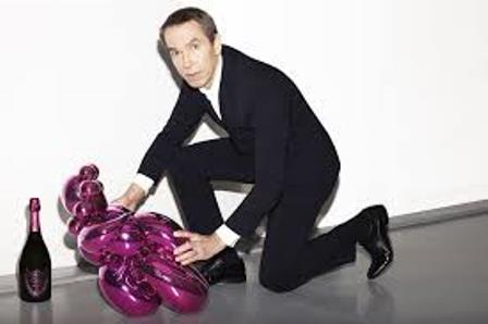 Jeff Koons, the Balloon Venus and Dom Pérignon Rosé Vintage 2003