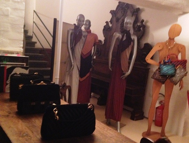 The Atelier of Roberta di Camerino, photo by N