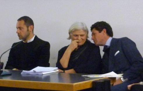 Massimiliano Giornetti, Laura Lusuardi and Matteo Marzotto, photo by Silvano Arnoldo