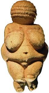 The inspirationn: The Venus f Willendorf