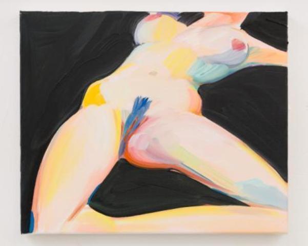Kajsa, oil on canvas, Celia Hempton, photo courtesy of Galleria Lorcan O' Neill