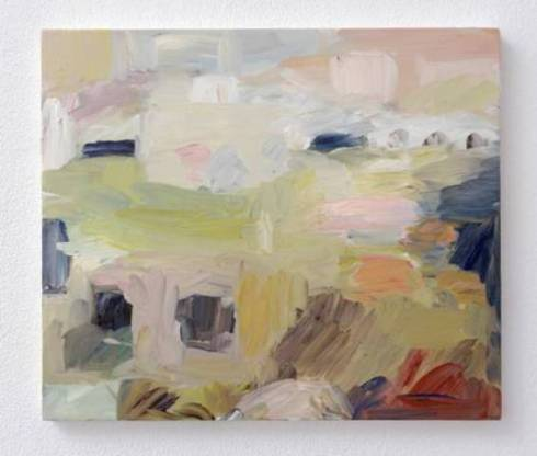 Celia Hempton, oil on canvas, photo courtesy of Galleria Lorcan O' Neill