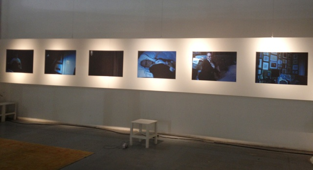 the photographs by Mustafa Sabbagh on show, photo by N