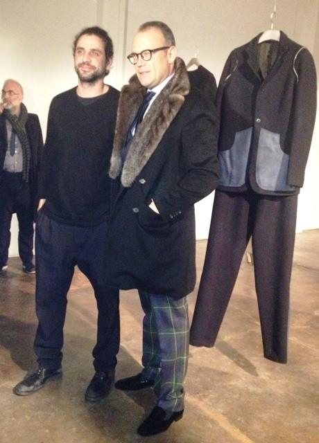 Fabio Quaranta and Cesare Cunaccia, photo by N
