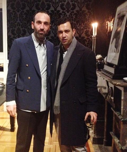 Emiliano Rinaldi and Angelos Bratis, photo by N