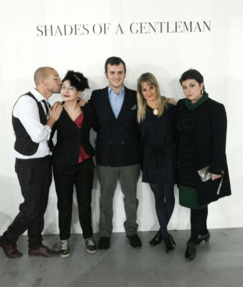 Alessandro De Lorenzo, me, Max Nicoloro, Anna Porcu and her friend, photo by Vincent Law