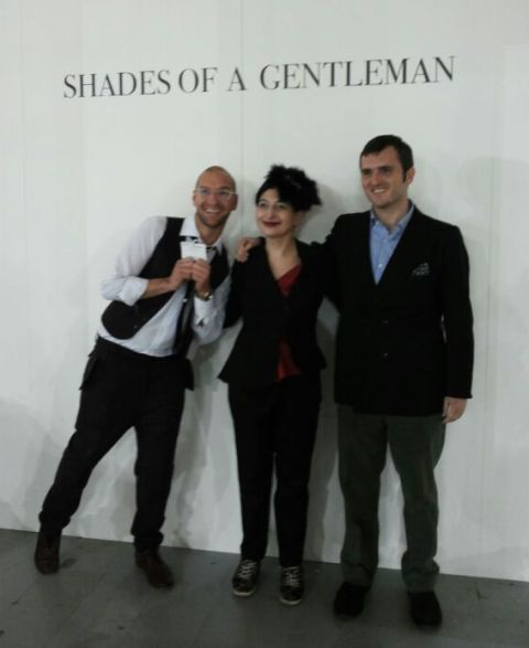 Alessandro De Lorenzo, me and Max Nicoloro, photo by Vincent Law