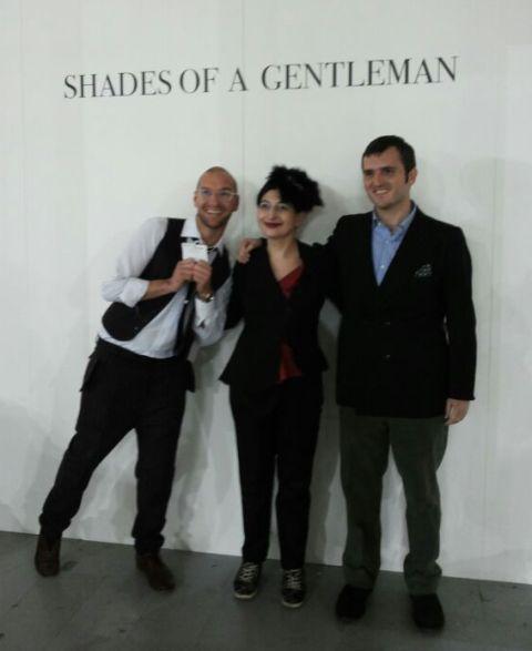 Alessandro De Lorenzo, me and Max Nicoloro, photo by Vincent Law