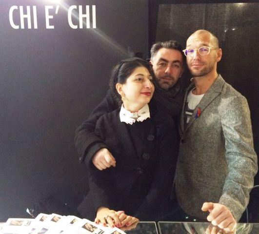 Me, Giovanni Ottonello and Alessandro De Lorenzo, photo by Vincent Law