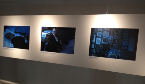 The photos by Mustafa Sabbagh on show, photo by N