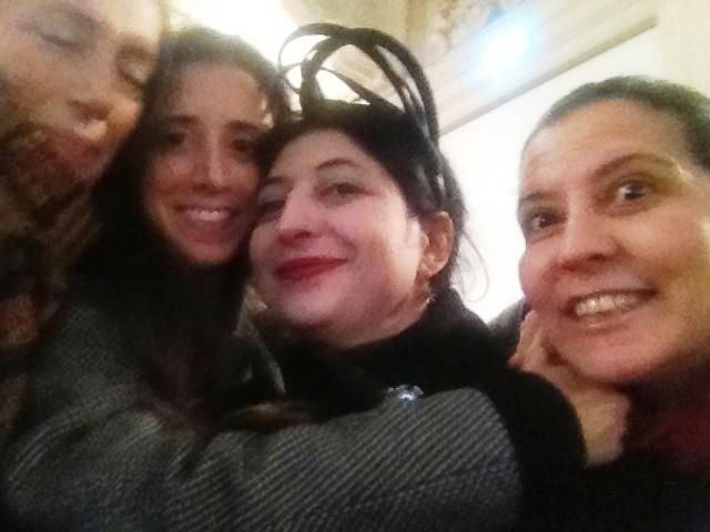 Fabiana Balestra, Caterina Gatta (aka Kitteness/Gattosità), me and Francesca Romana Secca, photo by N