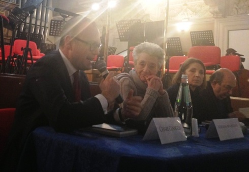 Cesare Cunaccia, Adriana Mulassano,Roberta Filippini and Massimo Di Forti, photo by N