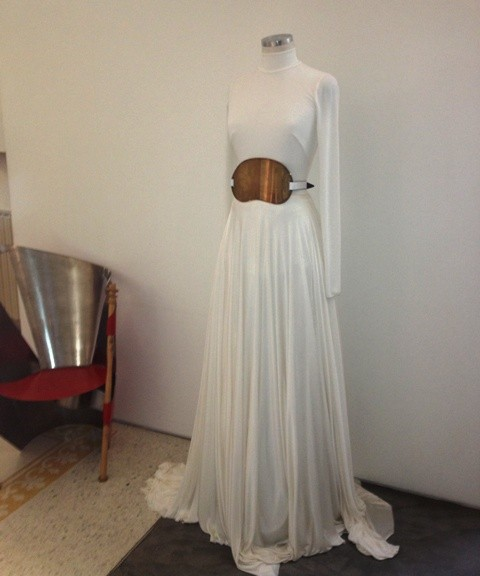 Lightness and a detail in the name of Vionnet, photo by N