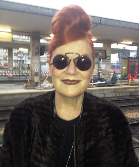 The magic of random: to see Roberta Valentini at the Brescia railway station early in the morning before leaving, photo by N